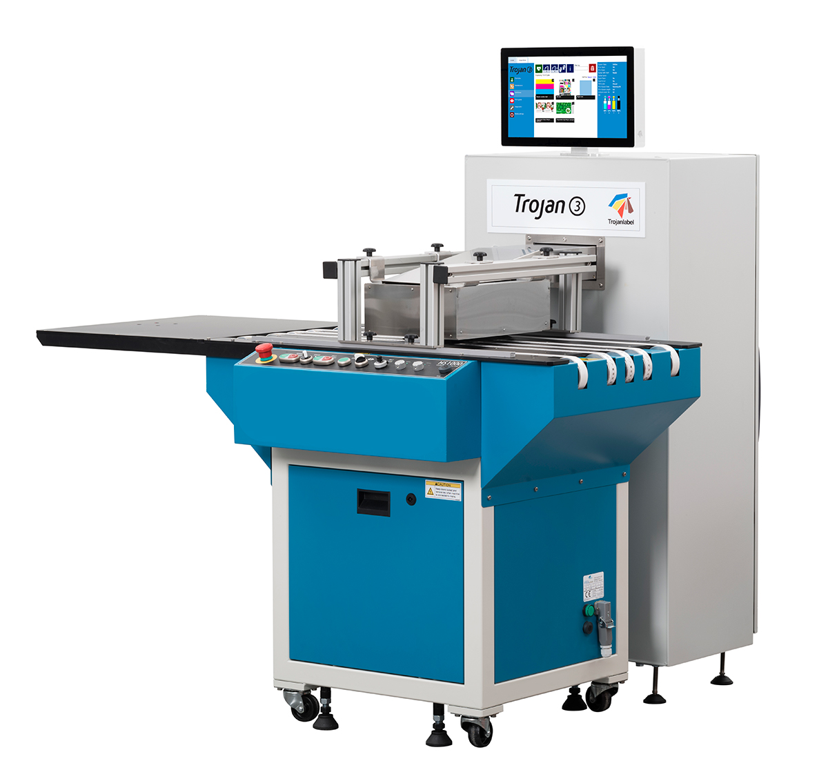 машина за довършителни операции за самозалепващи се етикети