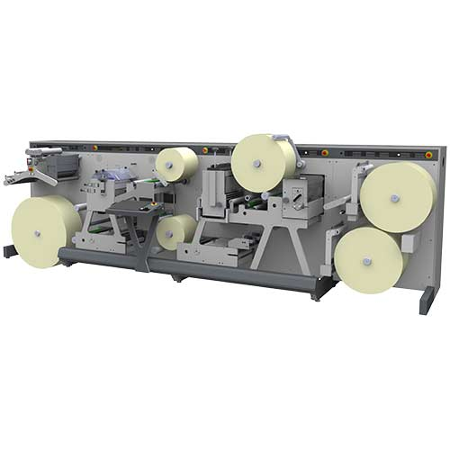 dc 350 label machine