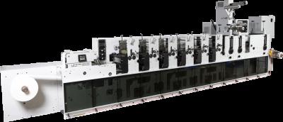 Mark Andy 2200 este reperul în echipamentele de imprimare. Dispunând de gestionarea tensiunii web, casete auto-aliniate și sisteme superioare de uscare și întărire