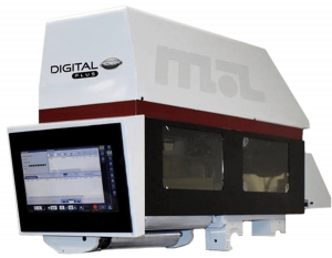 Digital Plus Screen is an inline digital print module that seamlessly integrates single color UV inkjet printing into high-output flexographic equipment.