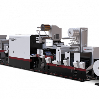 The smart choice for your business, Digital Series iQ is a fully-integrated inkjet press built on a proven Evolution Series flexo platform.